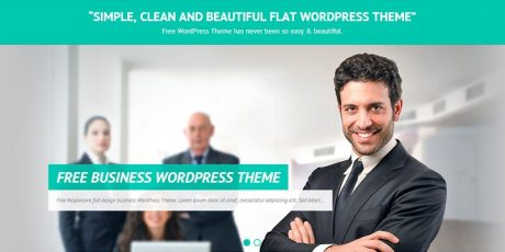 interface responsive business theme
