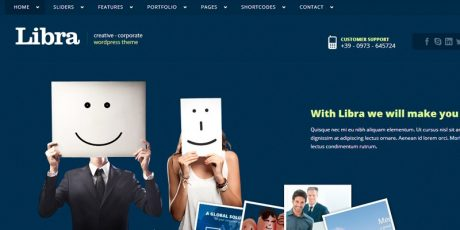 libra corporate portfolio theme