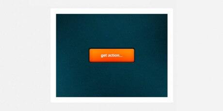 orange psd action button