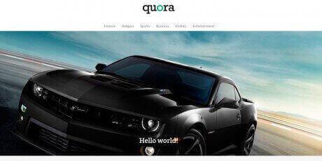 quora wordpress theme