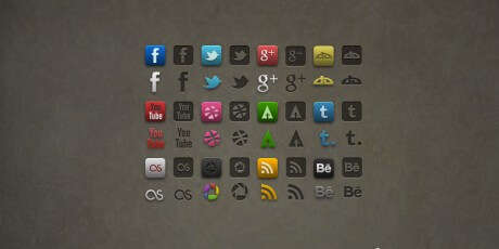 socialis icon pack psd