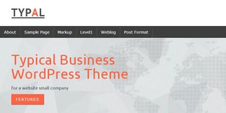 typal business wordpress theme