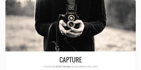 capture free theme 2
