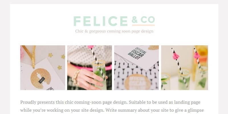 felice free wordpress theme