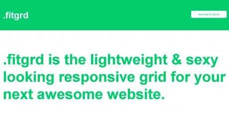 fitgrid responsive grid system