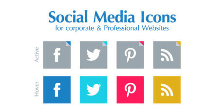 free colorful social media icons