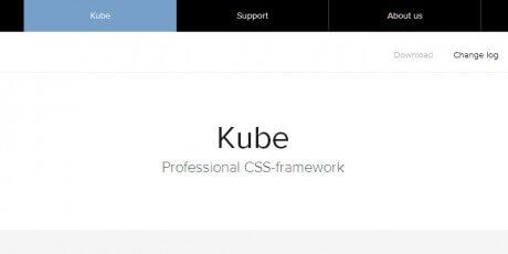 kube css framework