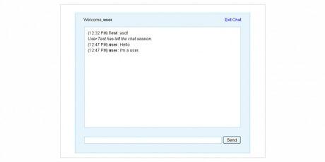 simpleweb basedchatapplication