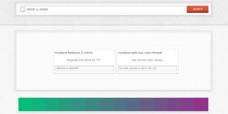 colorhexa gradient generator