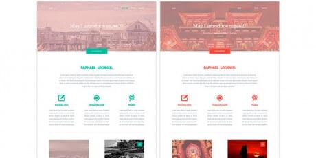 variety psd website template