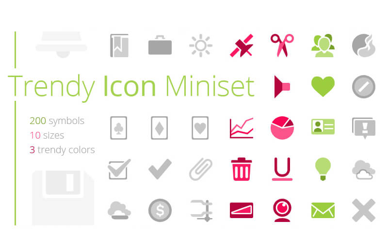 Trendy_icon_miniset