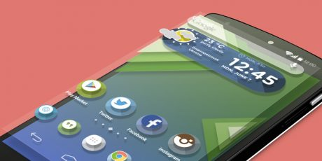 psd android launcher theme