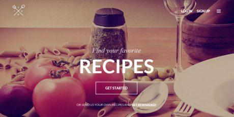 restaurant flat bootstrap web template
