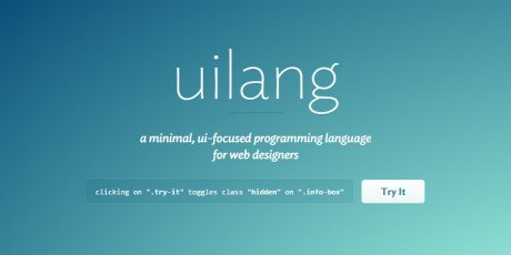 uilang css preprocessor