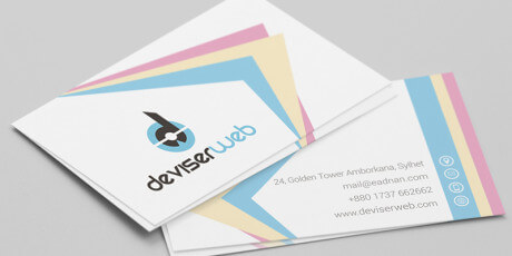 business psd card mockup