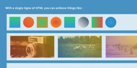 css gradient creation jquery library