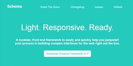 ui frontend framework schema
