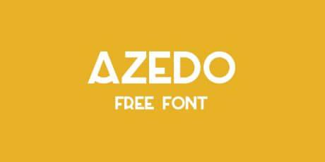 azedo elegant font