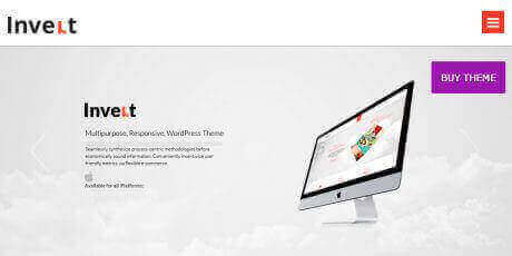 clean responsive wordpress theme