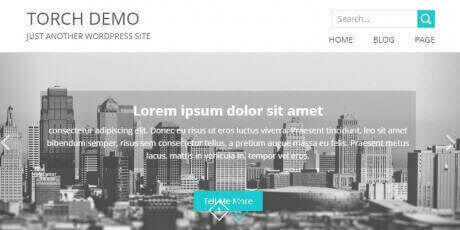 free bootstrap wordpress theme