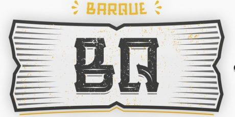 free stylish typeface barque