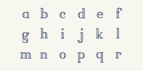 pirou simple stylish font