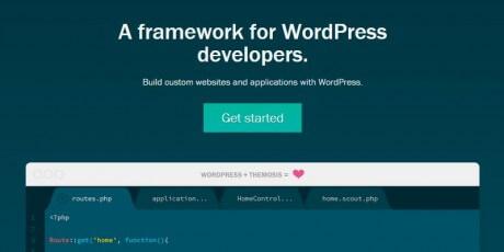 wordpress development framework