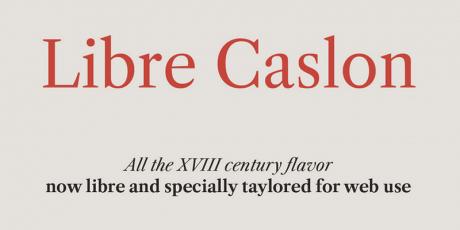 elegant serif typeface