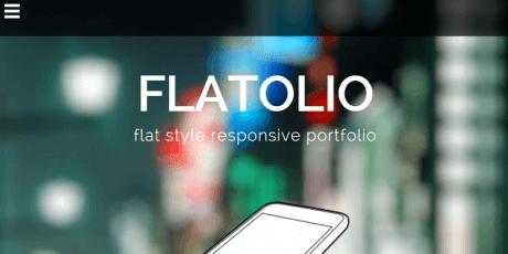 flat startup wordpress theme