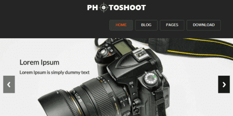 photographers wordpress theme