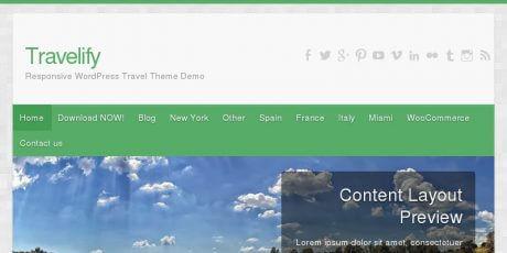 travelify travel wordpress theme