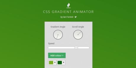 css online gradient animator