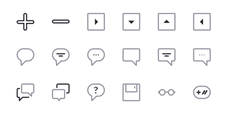 huge outlined sketch icon pack