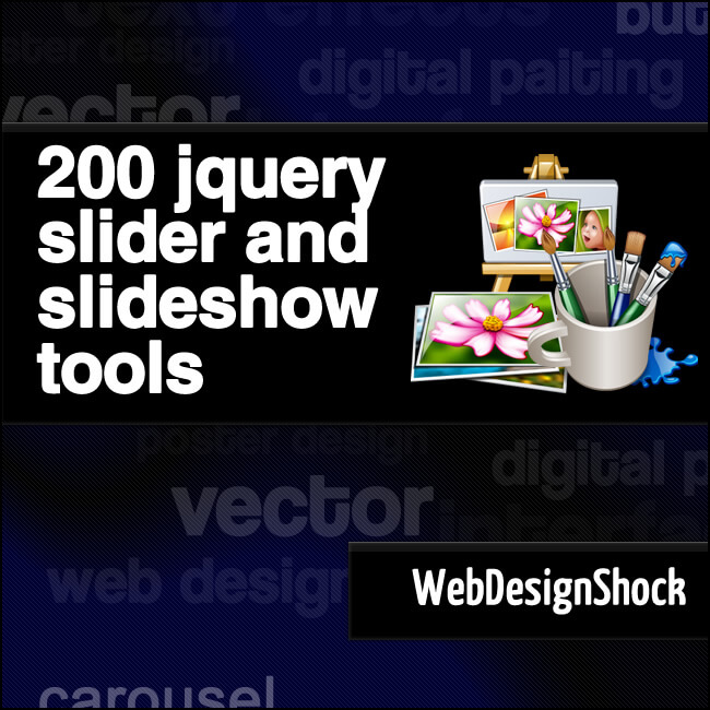 jQuery slider tools, 200 best! | Bypeople