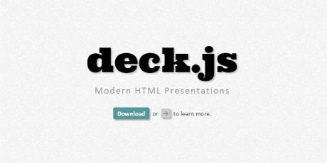 presentation javascript plugin