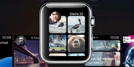 apple watch gui sketch kit