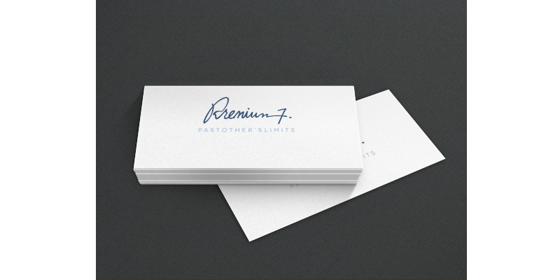 Psd business card presentation templates bypeople card will look before being printed and you can even select the card paper texture you are going to use so your client can have an even closer idea wajeb Gallery