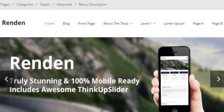 free business blog wordpress theme