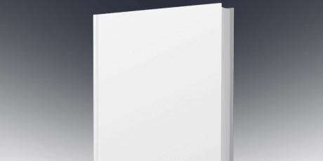 free psd book template