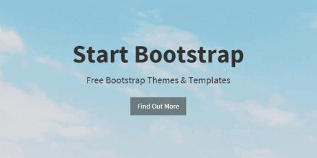 full website html bootstrap template