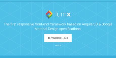responsive angularjs front end framework