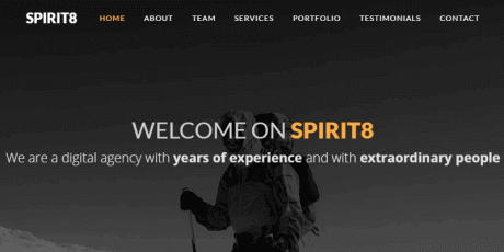 responsive business html template