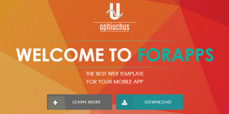 responsive html5 css3 template ophiuchus