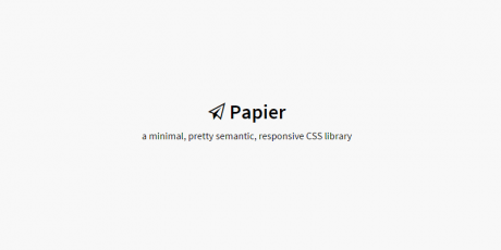 responsive web elements css library
