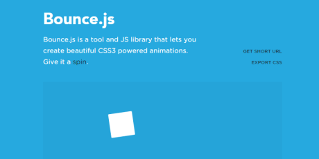 css3 animations javascript library
