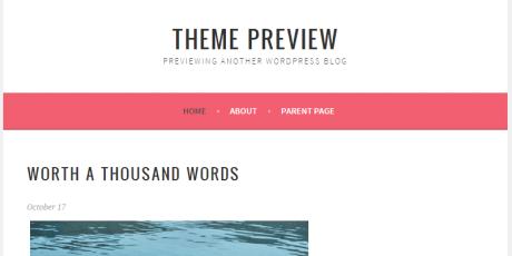 free minimalistic wordpress theme sela