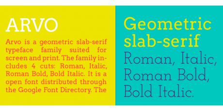 geometric typeface family
