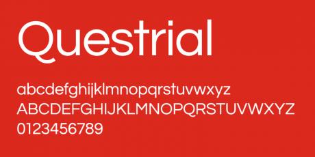 geometrical sans serif font