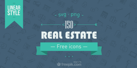 gorgeous real estate png svg line icons