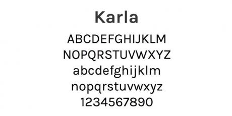 grotesque sans serif typeface